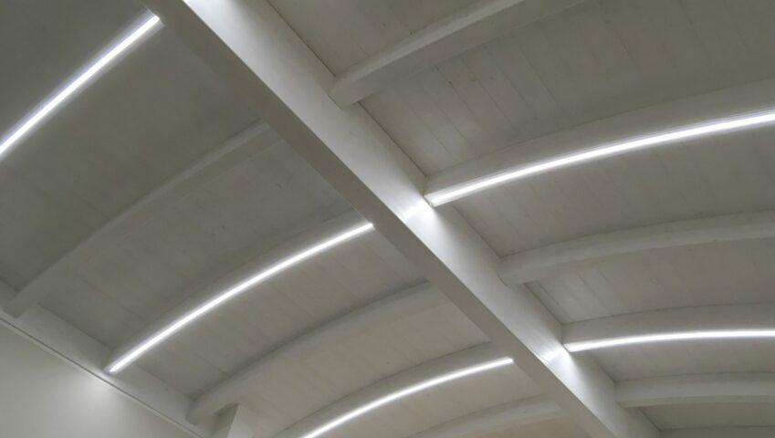 progetto illuminazione led industria