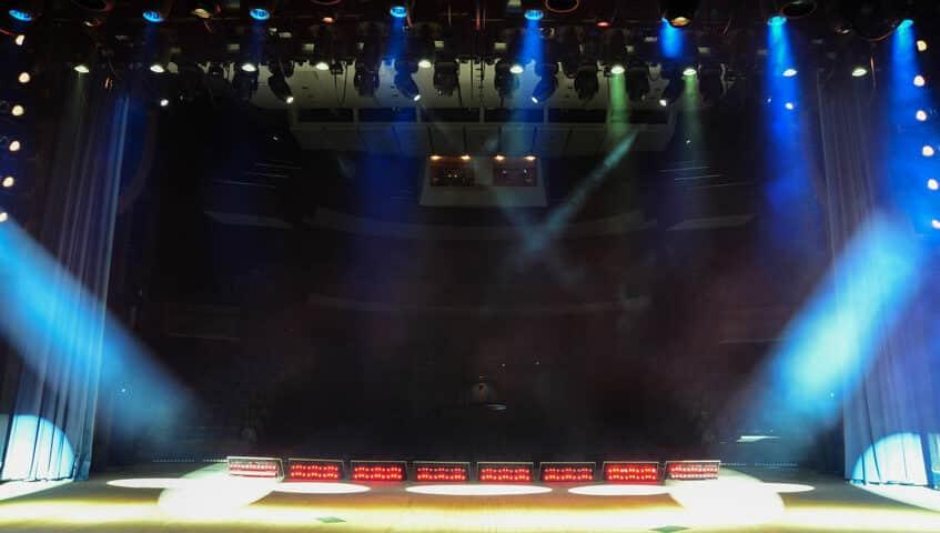 Barre a LED su misura per spettacoli e teatri