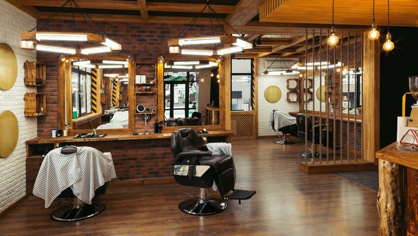 Come illuminare un barber shop
